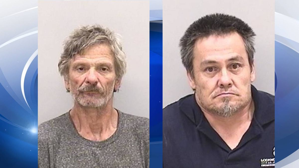 Brian Foster (left) and Harry Miller (right) have been charged in the investigation of the...