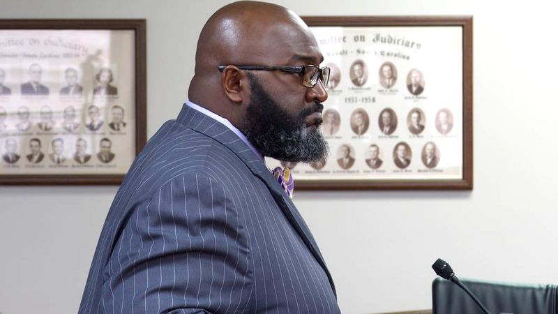 South Carolina Department of Juvenile Justice Director Freddie Pough got a grilling from state...