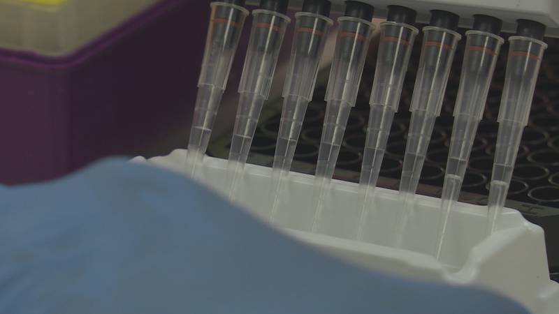 Georgia's top leaders say backlogs in processing COVID tests makes it nearly impossible to...