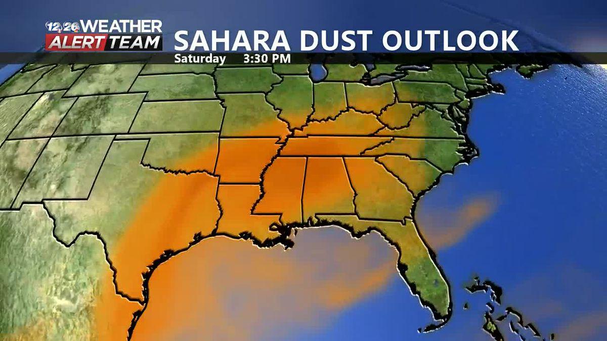 Sahara Dust Outlook