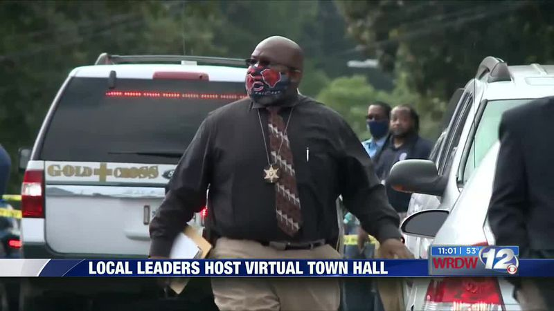 Local leaders host virtual town hall