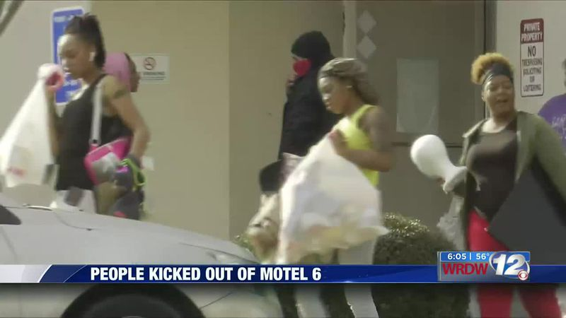 Why people were kicked out of Motel 6 in Augusta