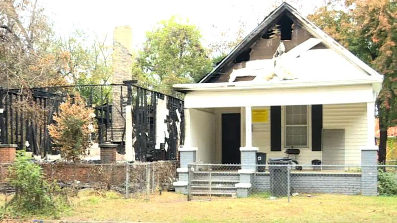 A family of 10 were displaced after a fire next door spread to their home last week.