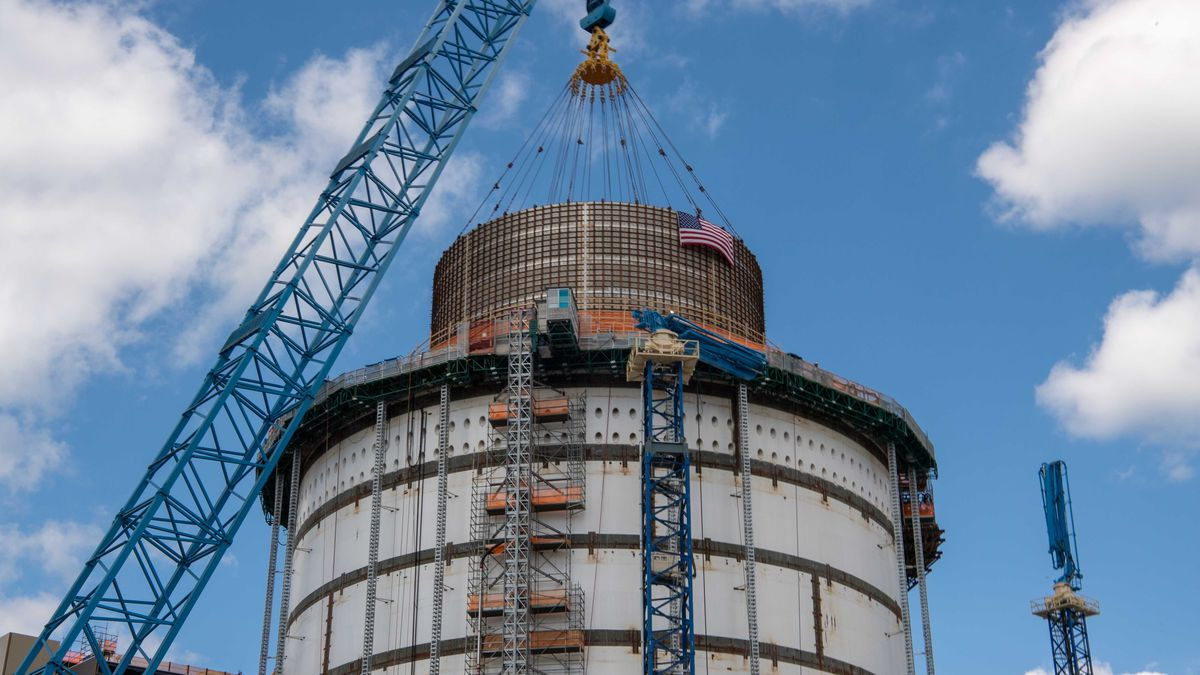 All modules for Georgia Power's Vogtle 3 and 4 nuclear expansion project have been set, now...