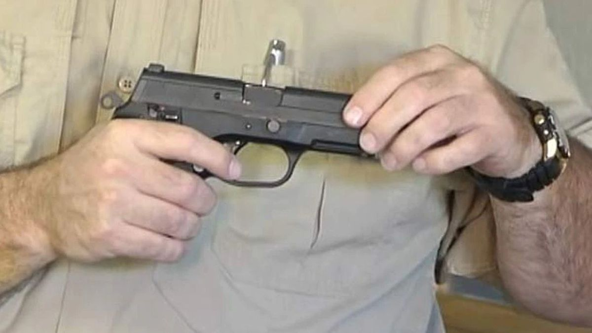 South Carolina is looking at a law to allow open carrying of handguns.