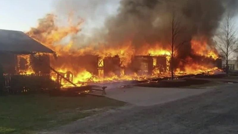 Over $15,000 raised after local horse rescue barn fire