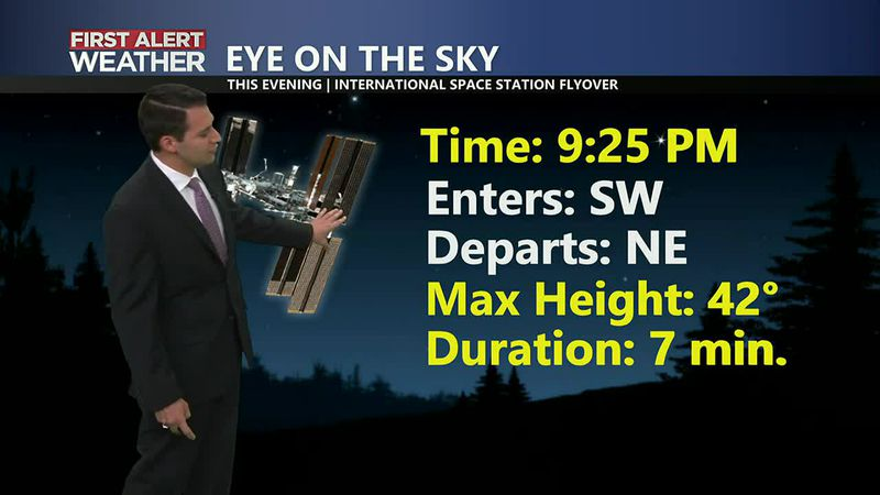 ISS Visible Tonight