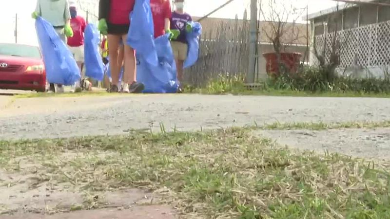 Some local high schoolers set out to help clean up and revitalize the historic Harrisburg...