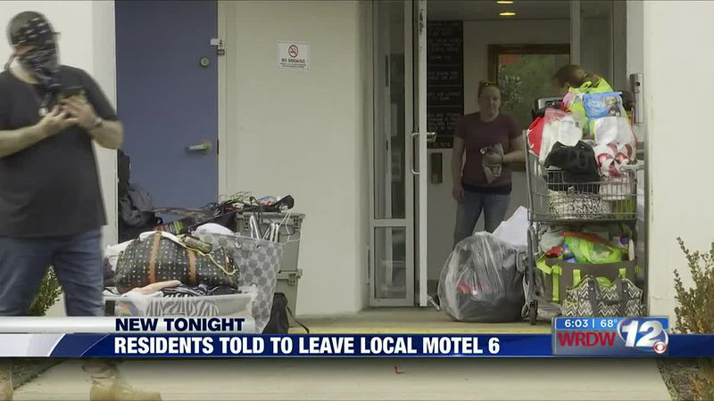 Residents told to leave Motel 6 in Augusta