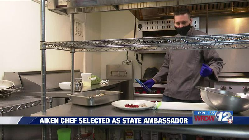 Aiken chef selected as state ambassador