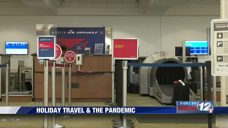 Holiday travel during the pandemic