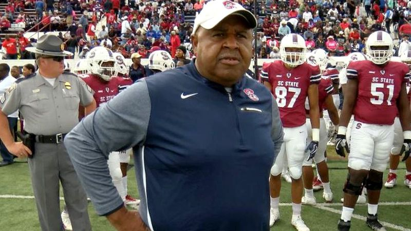 South Carolina State gave head football coach Buddy Pough a one-year extension on Wednesday...