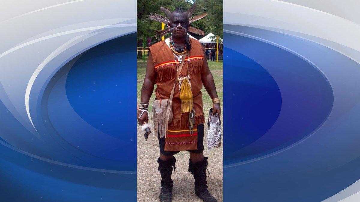 Chief Se'khu Hadjo Gentle of the Yamassee Nation
