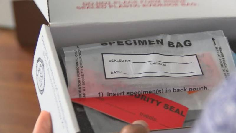 A backlog of unprocessed rape kits continues to be an issue in Georgia.