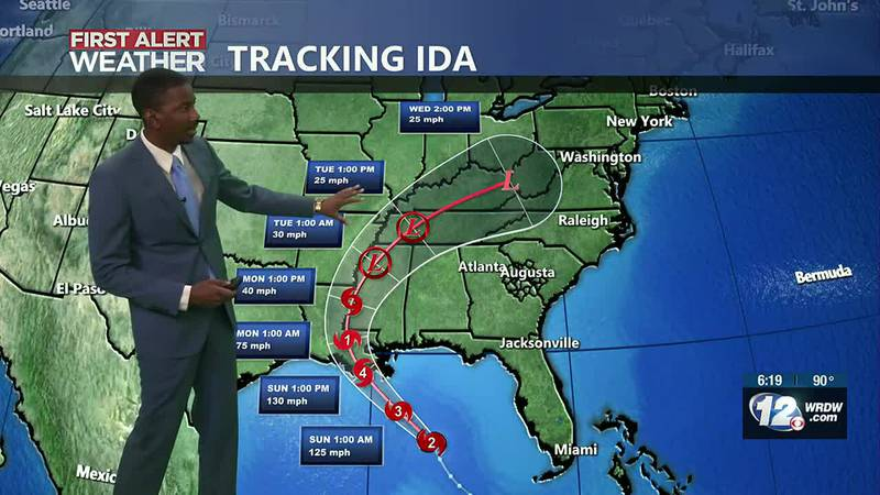 Hurricane Ida CSRA