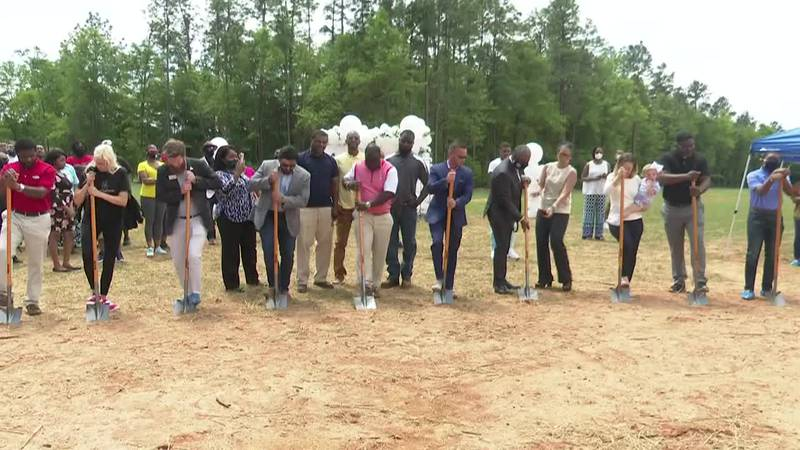 There's a brand new community coming to South Augusta. Crews broke ground today on the Orchard...