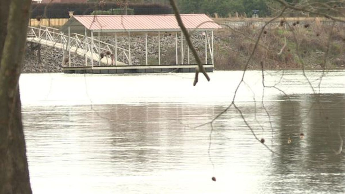 Rivers in the area are higher than normal due to last week's rains. (Source: WRDW)