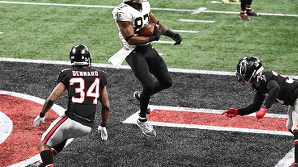 NFL Week 13, NO Saints v. Atlanta Falcons in Atlanta, December 6, 2020