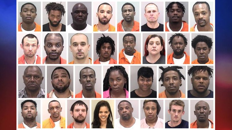 These are among the suspects in the Richmond County Sheriff's Office bust of a drug ring.
