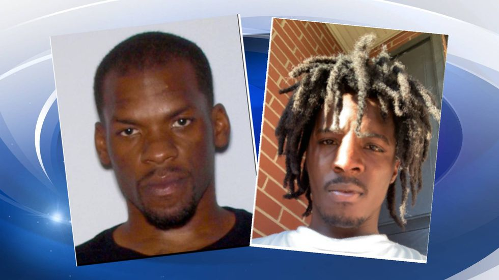 Carl Collins Jr., 29, (left) and Ketron McCray,18 (right).