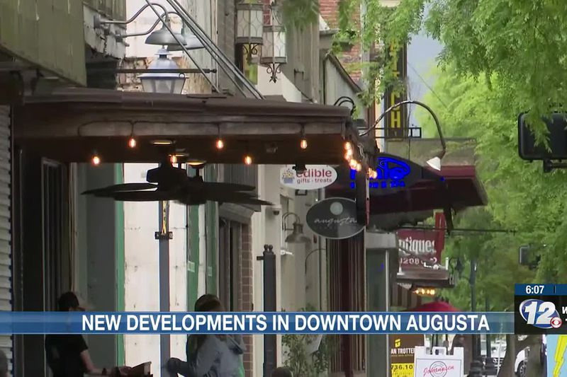Between restoring old pieces of Augusta to bringing in brand new developments downtown is...