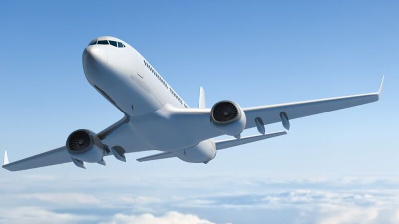 A commercial jet landing on a runway at an Austin, Texas, airport hit and killed a man.
