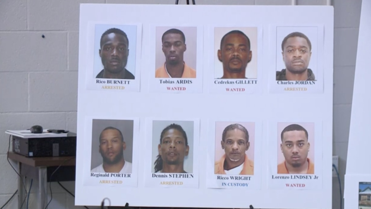 The Richmond County Sheriff's Office says they've made a major dent in a local street gang thanks to a multi-jurisdictional investigation. (Source: WRDW)