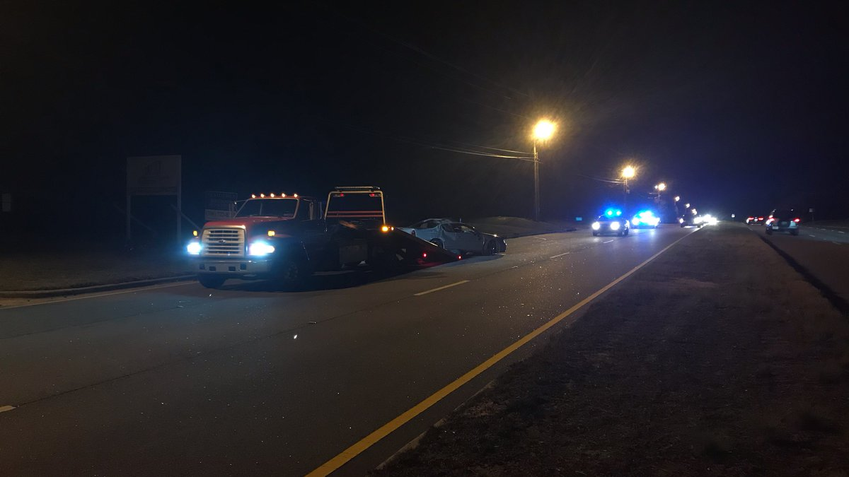 The Richmond County coroner confirms one person has died after an accident on Peach Orchard...