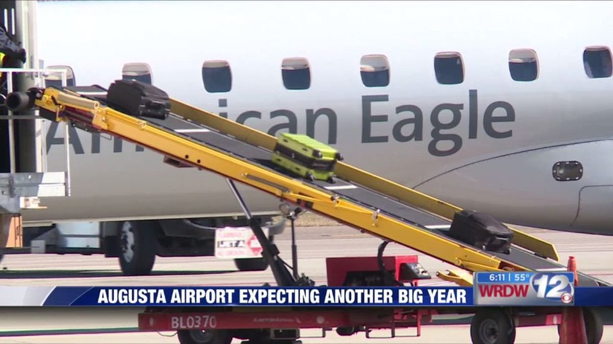 Augusta Regional Airport is happy with the results in 2019, and 2020 looks to be another big year. (Source: WRDW)