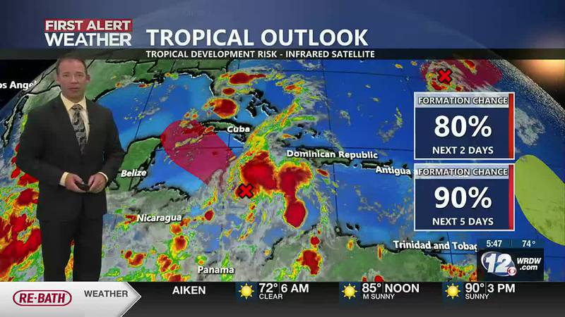Heat and Humidity, Tropical Update