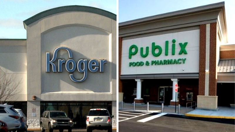 Kroger and Publix stores will offer the COVID-19 vaccine.