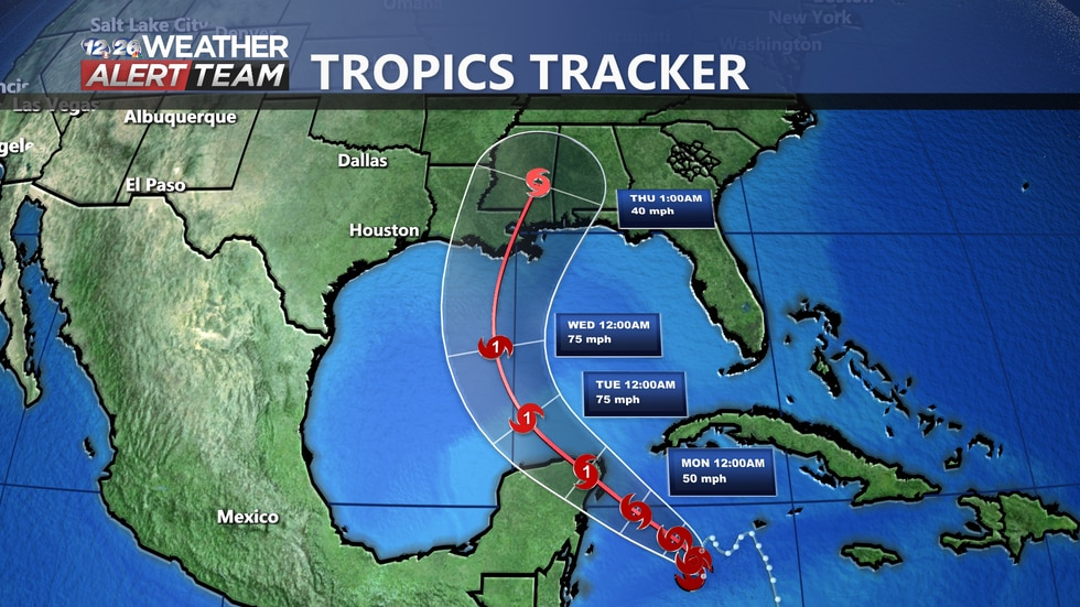 TS Zeta is currently expected to become a Category 1 Hurricane and impact portions of the Gulf...