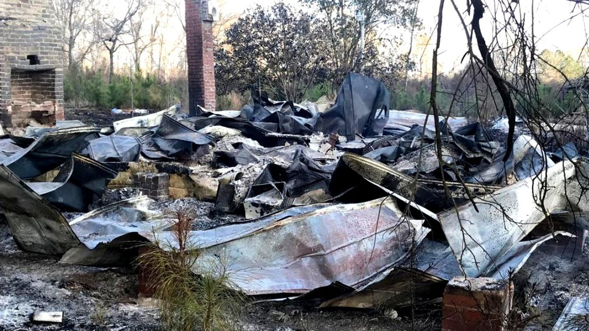 Before this home in Norway, S.C., burned to the ground, a body was found in a freezer there.