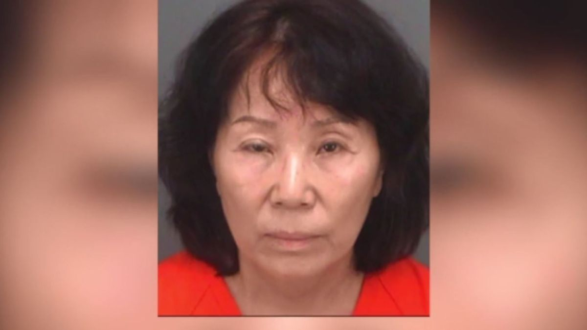 According to Indian Shores police, Jung Soon Wypcha, who owns the Indian Shores Food Market next door used a shared bathroom to access the ice cream shop on five occasions in June. (Source: CNN)