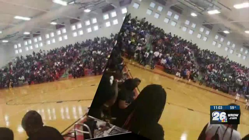 Photos of packed Richmond County gym cause a stir on social media