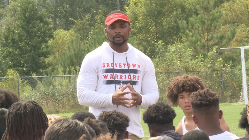 After 8 seasons with the Warriors, head coach Damien Postell is leaving Grovetown.