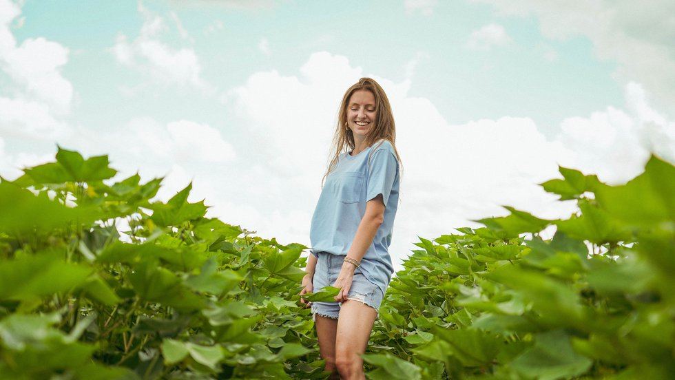 Magnolia Loom t-shirts support Georgia cotton industry.