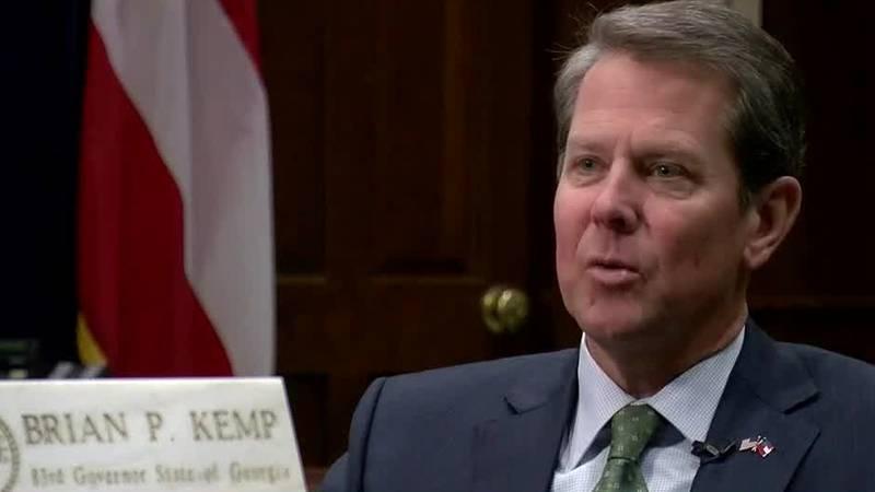 Georgia Governor Brian Kemp