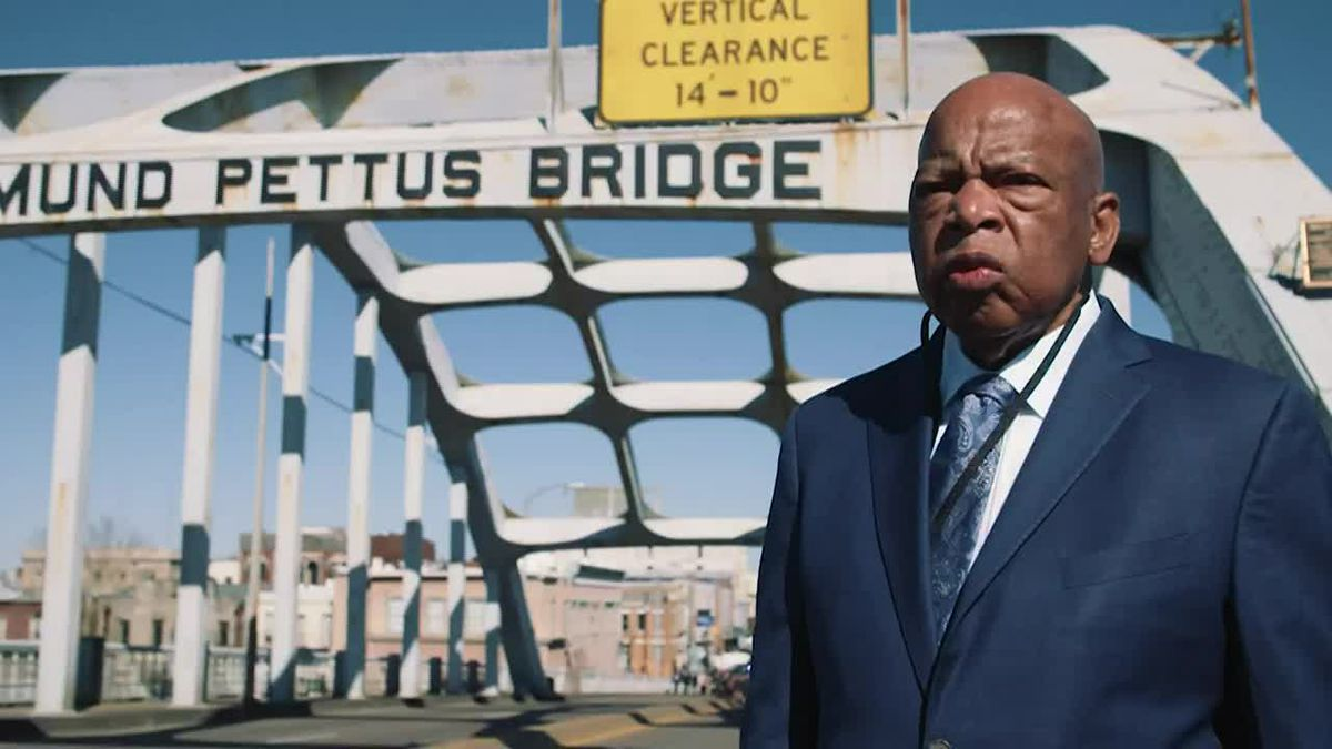 John Lewis and his fight for civil rights