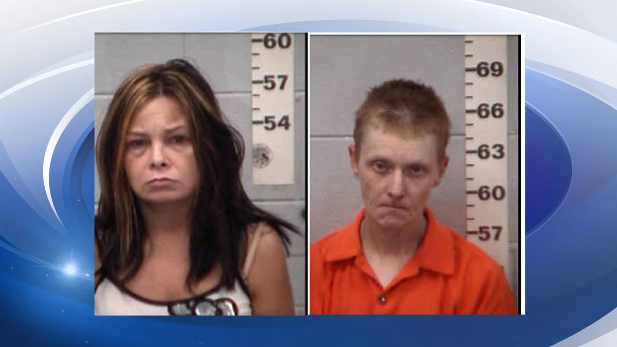 Brandy Lee (L) and William Woods (R) stand charged in a case involving the abuse of a...