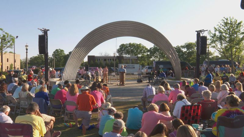 Family, friends, and community members celebrated their lives through a memorial service and...