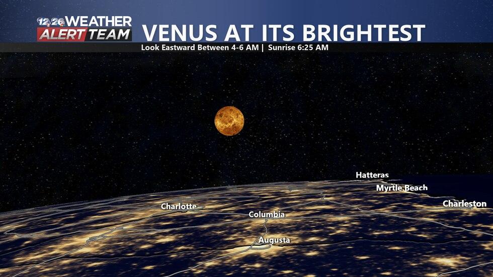 Venus at its brightest