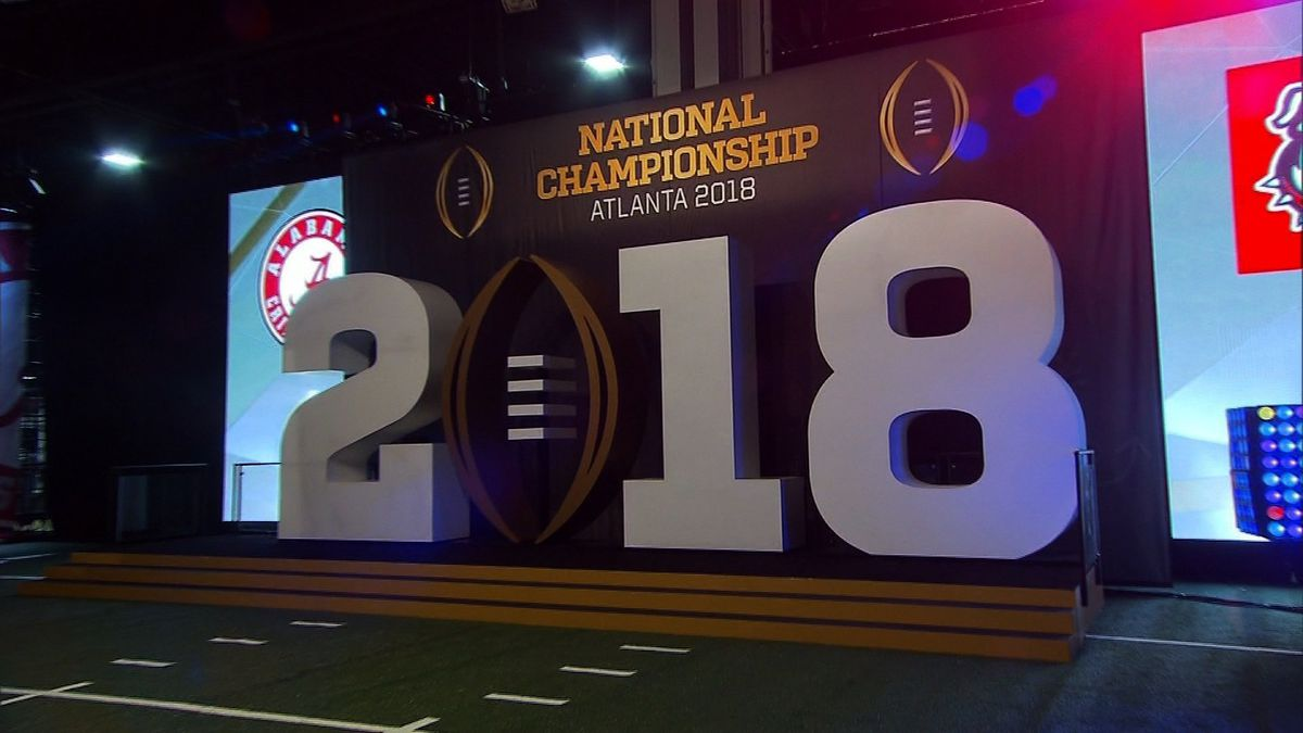 An image of the 2018 College Football Playoff National Championship