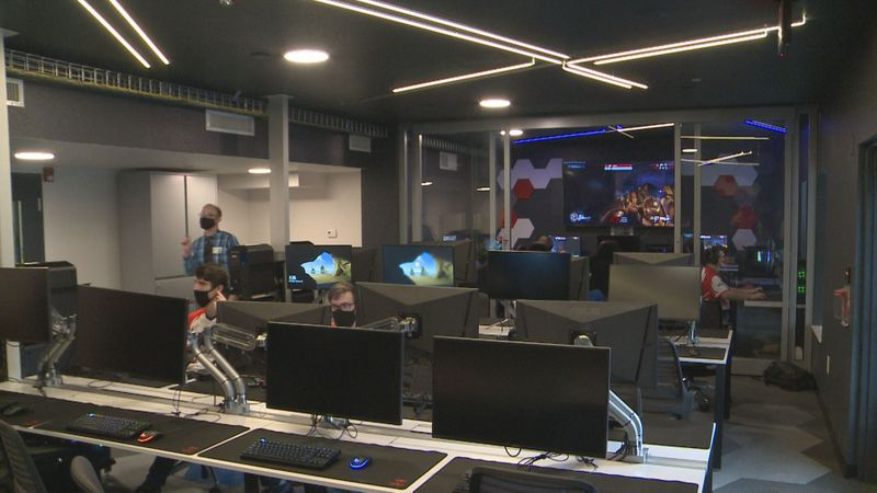 USC Aiken cut the ribbon on their new E-Sports lab Monday, October 12th.