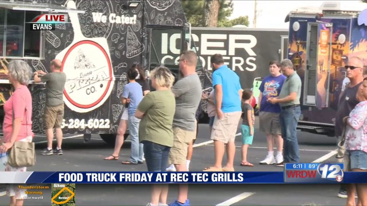 Food Truck Friday live from Evans. (Source: WRDW)