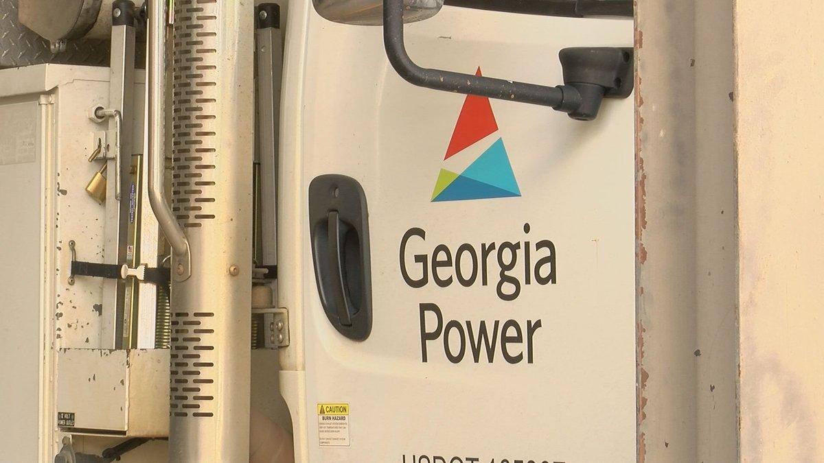Georgia power truck