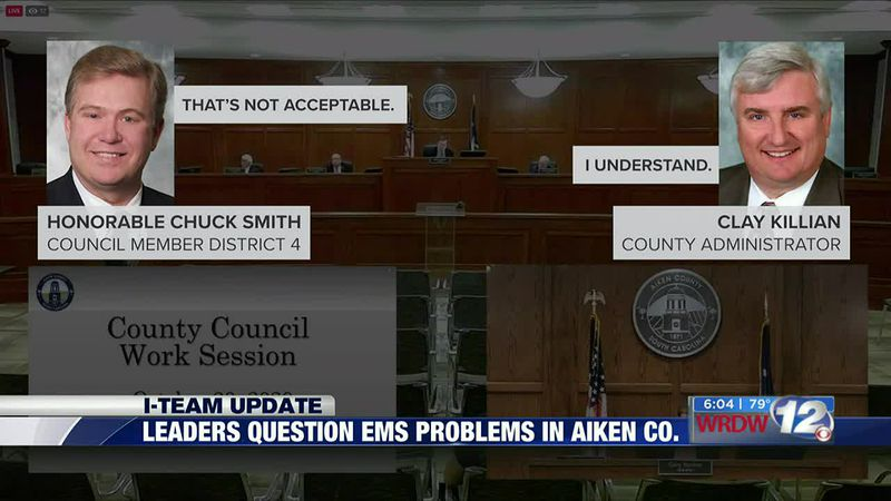 I-TEAM Update: Leaders question EMS problems in Aiken Co.