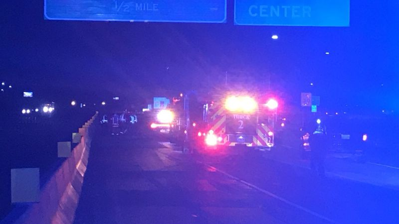 Five people were taken to the hospital following a three-car collision on I-20 EB near the...