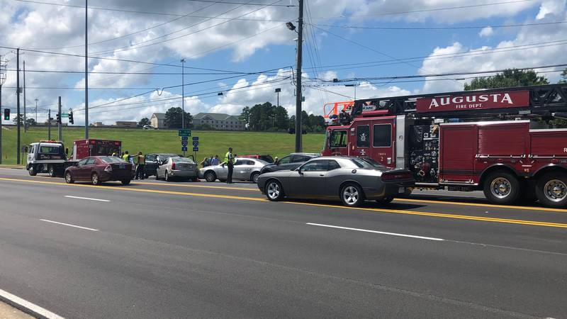 Washington road multi-vehicle collision