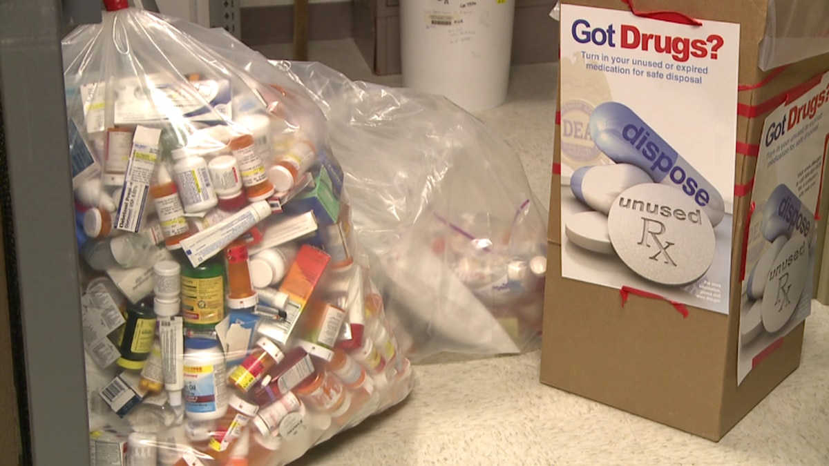 Area law enforcement agencies are taking part in the National Prescription Drug Take Back Day...